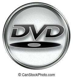 dvd, grijze , pictogram