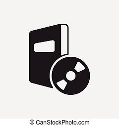 dvd, icono