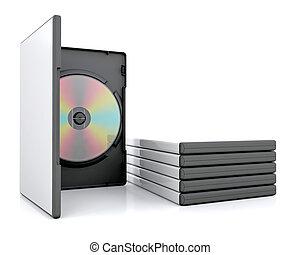 DVD in case