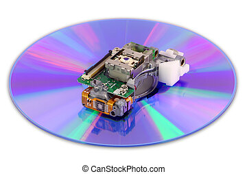 DVD laser and disk