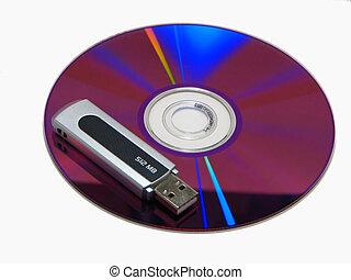dvd vs pen drive
