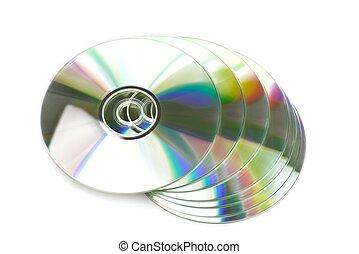 dvds, /, cds