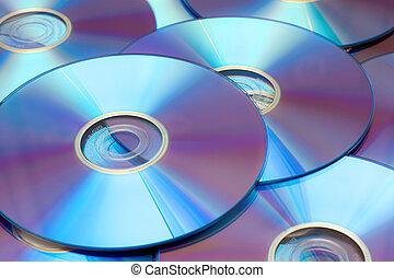 dvds, plano de fondo