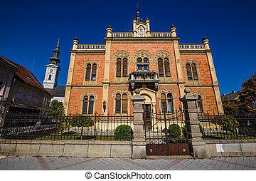 dvor, 悲しい, palace)-novi, vladicanski, (bishops, セルビア