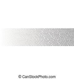 dwójkowy kodeks, abstrakcyjny, wektor, tło