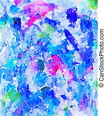 DW abstract painted background 6