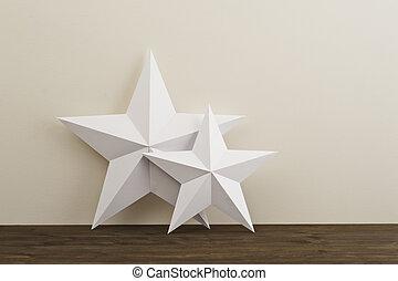 dwa, gwiazdy