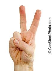 dwa palca