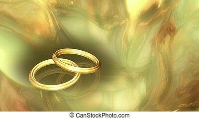dwa, poślubne bandy