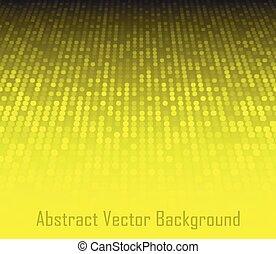 dwa, wektor, struktura, tło., przestrzeń, abstrakcyjny, illustration., żółty, technologia, szary, wymiarowy, surface., perspektywa