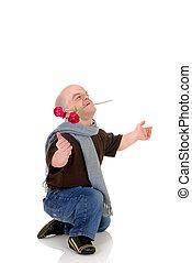 Dwarf, little man with rose - Little man, Don Juan dwarf ...