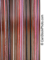 dyed threads for needlework