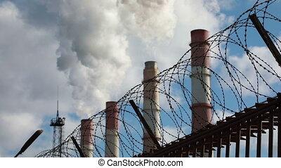 dym, środowiskowy, pollution:, kobza
