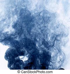 dym, tło
