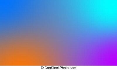 Dynamic animation. Smooth gradient background - Dynamic...