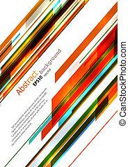Dynamic background - Dynamic bright diagonal stripes...