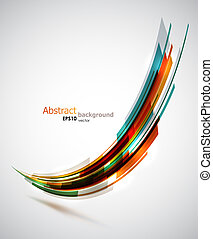 Dynamic background - Cool abstract shape background....