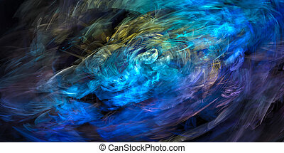 dynamic colorful abstraction
