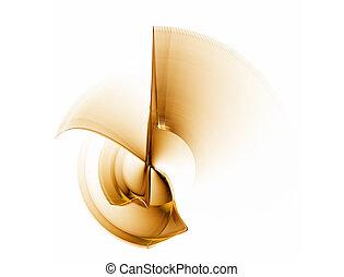 dynamic golden rotational motion