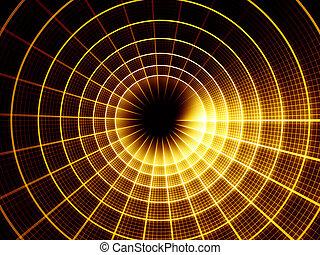 Dynamic Grid Background