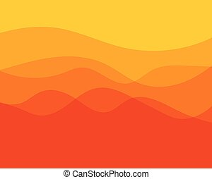 Dynamic texture orange background