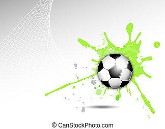 dynamique, fond, sports