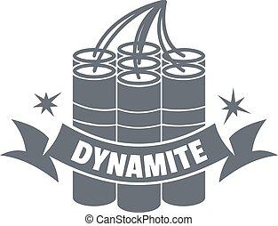 Dynamite logo, vintage style