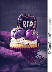 dynie, cupcake