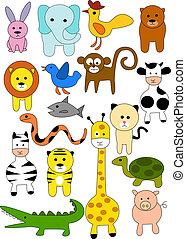 dyr, doodle