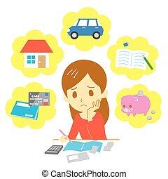 dyrekcyjny, finanse, rodzina