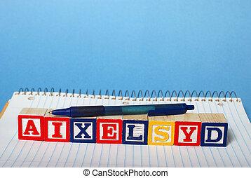 dyslexia, 困難