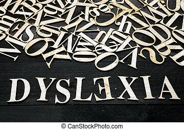dyslexie, begriff