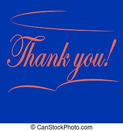 dziękować, you!