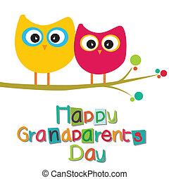 dziadkowie, dzień