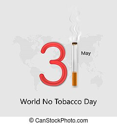 dzień, świadomość, palenie, elements., typographical, świat...