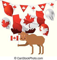 dzień kanady, karta