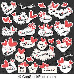 dzień, valentine`s, etykieta