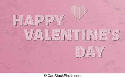 dzień, valentine`s, szczęśliwy