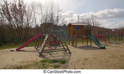 dzieci, plac gier i zabaw, outdoors