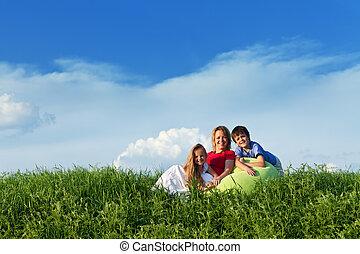 dzieciaki, outdoors