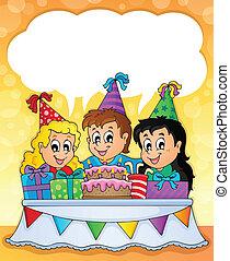 dzieciaki, partia, temat, wizerunek, 2