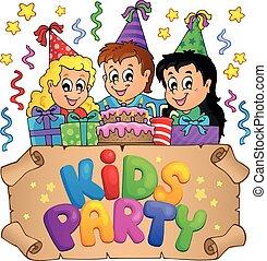 dzieciaki, partia, topic, wizerunek, 6