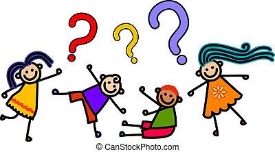 dzieciaki, pytanie