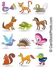 dzieciaki, zwierzęta, zabawki