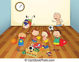 dzieciska pokój, interpretacja