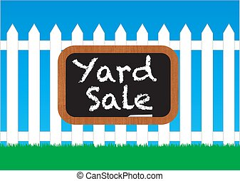 dziedziniec, znak, sprzedaż