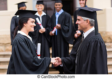 dziekan, uzgadnianie, samica, absolwent