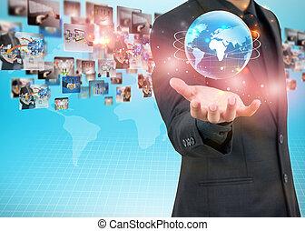 dzierżawa, biznesmen, świat handlowy