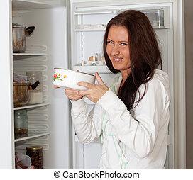 dzierżawa jadło, kobieta, faul