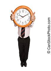 dzierżawa, zegar